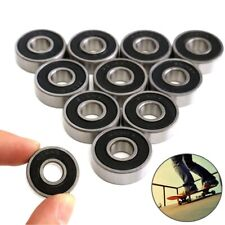 10pcs/packet 608RS Bearing 8*22*7/21x21x7 mm ABEC-5 Skateboard Scooter 608 2RS