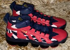 NIKE Air Vapormax DT Gliese Olympic Navy Red Training Running Shoes NEW Mens 10