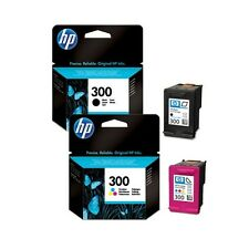 2 Genuine HP 300 Ink Cartridges CN637EE for Printers inc Deskjet F2440 & more