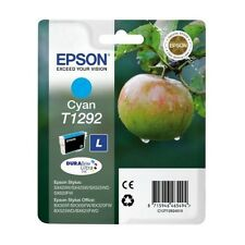 Genuine Epson T1292 Cyan Ink Cartridge for Stylus Printers C13T12924010 Apple