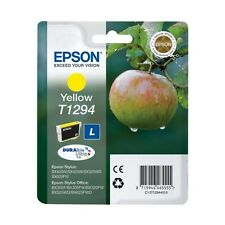 Genuine Epson T1294 Yellow Ink Cartridge for Stylus Printers C13T12944010 Apple