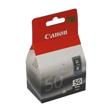 Genuine Canon PG-50 High Capacity Black Ink Cartridge 0616B001 for Printers