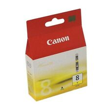 Genuine Canon CLI-8Y Yellow Ink Cartridge for Pixma Printers 0623B001