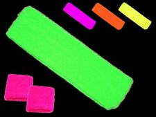 80s Fancy Dress Neon Headband and Sweatbands Deal Mix and Match Colours