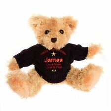 Personalised 21st birthday bear for him, Embroidered 21st Teddy Gift