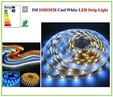 5M 300LED SMD3528 Flexible LED Strip Light with Adhesive Back Tape + POWER SUPPL