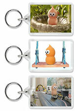 Zingy EDF Keepon Keyring / Bag Tag - Choose from 6 Images! *Great Gift!*