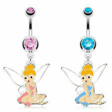 "Bauchnabel Piercing ""Fairy Dangle"" Exklusiv 2 Farben -- PIERCINGS von COOLBODY"