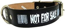 Not for Sale! Barcode punk rock emo Hundehalsband