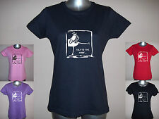 NEW 'TALK TO THE HOOF'' Ladies / Girls Funny Horse / Pony T-SHIRT S M L XL XXL