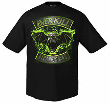 OVERKILL - ELECTRIC AGE BADGE T-SHIRT M/L/XL