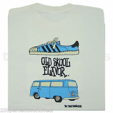 Bus Brothers Old Skool T2 Bay Window Camper Van Bulli Mens T Shirt VW Volkswagen