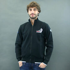 North Sails FELPA FULLZIP mod. NEW ZEALAND Nero