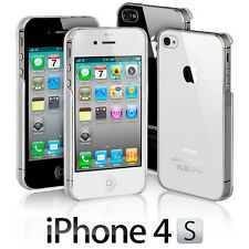 NEW STYLISH SLIM CRYSTAL CLEAR CASE COVER FOR APPLE IPHONE 4 & 4S  5 5S 5C SE