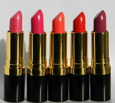 REVLON SUPER LUSTROUS LIPSTICK CREME, NEW & SEALED PLEASE SELECT SHADE FROM MENU