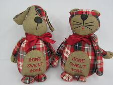 "LESSER AND PAVEY ""HOME SWEET HOME"" DOORSTOP (2 DESIGNS)"