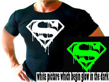 SUPERMAN  BATMAN  bodybuilding FUNNY workout  tshirt gym T Shirt Clothes BEST