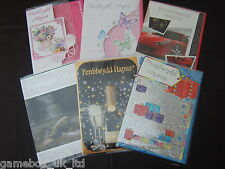 Welsh Birthday Card Greeting Cards Penblwydd Hapus Choice of Designs New Sealed