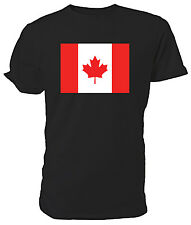 Canadian Flag T shirt - Choice of size & colours.