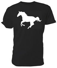 Horse Silhouette T shirt - Choice of size & colours.