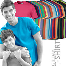 (Pack of 5) GILDAN G5000 Mens Heavy Cotton T-Shirt Tee (45 Cols)