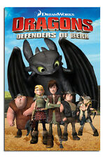 Dragons Defenders Of Berk Large Maxi Wall Poster New - Laminated Available