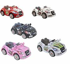 12V AUDI BATTERY KIDS ELECTRIC RIDE ON TOY CAR + PARENTAL REMOTE CONTROL MP3