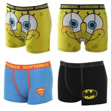 Batman Superman Spongebob Marvel Animal Mens Boxer Trunks Shorts Underwear