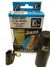 BG Flex Jazz Ligature for Metal Tenor Sax Mouthpieces from Curly Woodwind