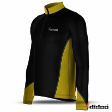 Mens Cycling Jersey Long Sleeve Bike Top Outdoor Wear Sports New Biking Shirt