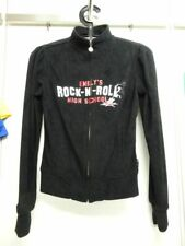 Emily the Strange Kapuzensweatjacke Zipper Rock and Roll NEU Punk Emo Rockabilly