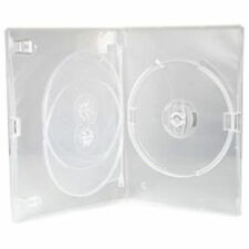 CD DVD 14mm Clear DVD 3 Way Case for 3 Disc 1 5 10 25 50 100 200 pack