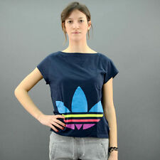 Adidas T-SHIRT ORIGINALS BIG TREFOIL Blu mod. Z35440