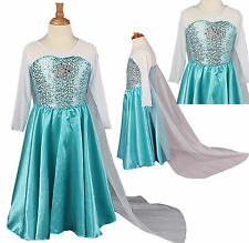 Frozen Disney Elsa Anna Party Dress Disney blue