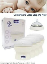 Chicco contenitore latte materno biberon chicco step up coppette assorbilatte