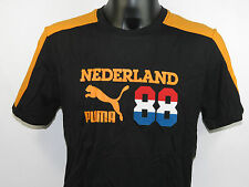 Puma T-Shirt Football Archives T7 Ringer T Holland 740805 07 +NEU+ Größe M-XL