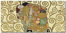 Quadro Gustav Klimt 'The Embrace' Stampa su Tela Canvas