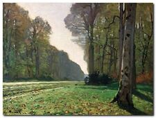 Quadro Claude Monet 'Le Pave de Chailly' Stampa su Tela Canvas