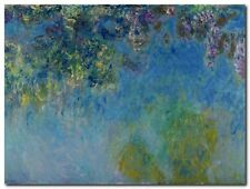 Quadro Claude Monet 'Glicine' Stampa su Tela Canvas