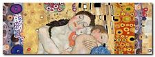 Quadro Klimt Patterns 'Deco Panel (Death and Life)' Stampa su Tela Canvas