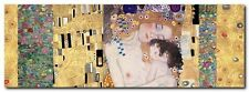 Quadro Klimt Patterns 'le tre età della donna' Stampa su Tela Canvas