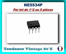 *** LOT DE 1 - 2 OU 5 CI NE5534P AMPLI OP LOW  DISTORSION - NEUFS ***