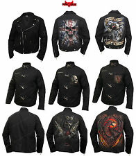 Spiral Direct Gothic Biker Jackets/Skull/Steam Punk/Dragon/Darkwear/Mens/Jackets