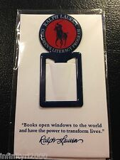 NEW POLO RALPH LAUREN ALLOY BOOKMARK