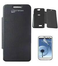 Premium Flip Book Cover Case for Micromax Bolt A089 With Screen Guard