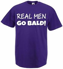 Funny Mens T-Shirt Top Bald Joke Christmas Birthday Present Gift Idea For Dads