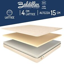 MATERASSO MATRIMONIALE LATTICE ORTOPEDICO ANTIACARO EASY WATER LATEX