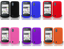 ZTE Concord V768 / ZTE Midnight Z768G Soft Silicone Rubber Gel Skin Case Cover