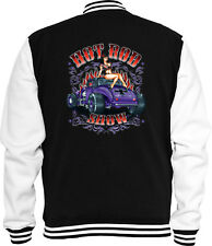 Hot Rod Sweat College Jacke Hot Rod Show Vintage Pinup Rockabilly