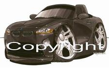 Koolart Car - BMW Z4 Metal Keyring / Key Ring - 1642